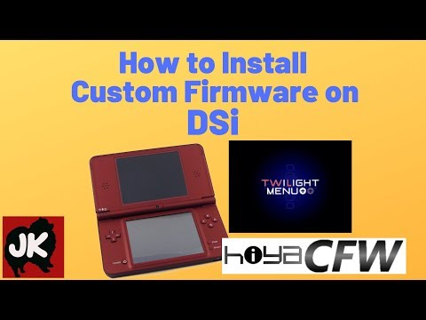 How To Install Custom Firmware On DSi - 2019