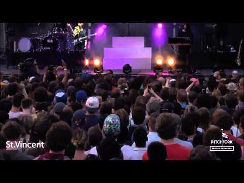 St. Vincent @ Pitchfork Music Festival 2014