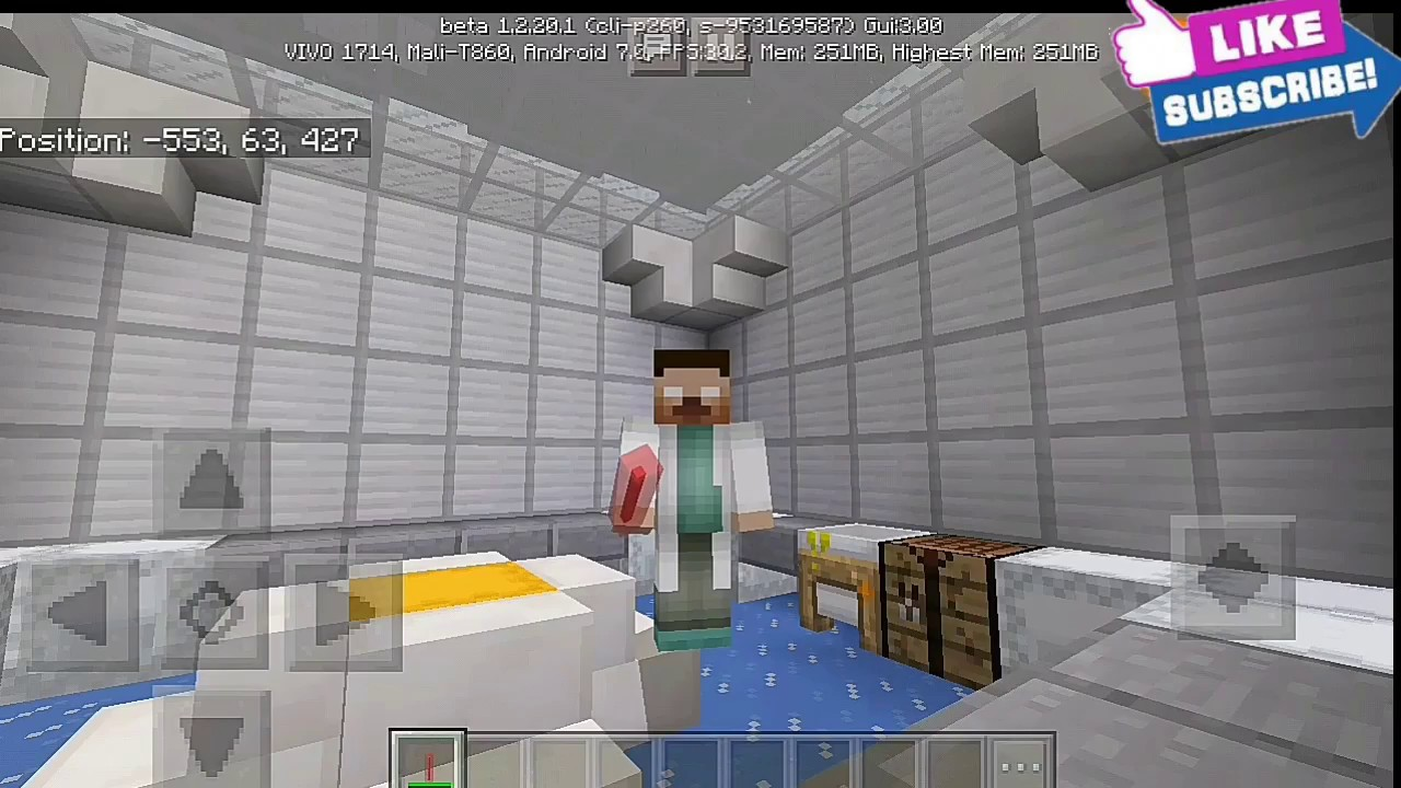 HOW TO MAKE GLOWSTICK using LAB TABLE MINECRAFT CHEMISTRY UPDATE in my  laboratory