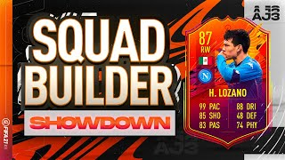 Fifa 21 Squad Builder Showdown!!! HEADLINERS LOZANO!!!