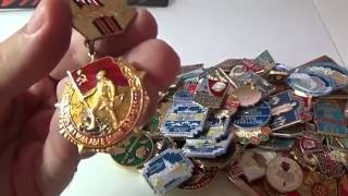 Смотрим 100 значков СССР Часть 2(, 2016-08-28T18:30:23.000Z)