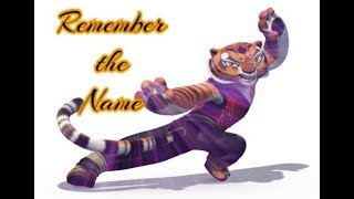 kung fu panda remember the name tigress