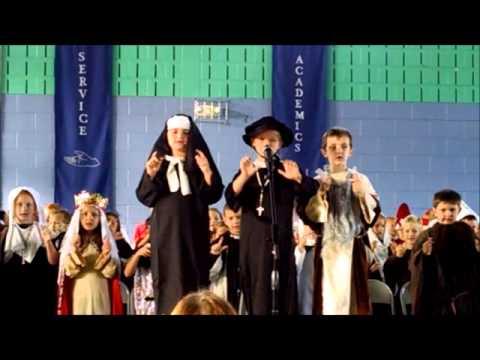 Trading my Sorrows - Saint Andrew School First Grade 2014