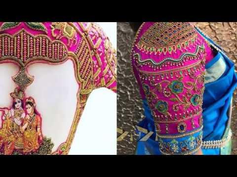 9432f92200efcb Top 20 Beautiful Art Silk Blouse Designs - Silk Blouse Designs - Saree  Blouse Designs. Designer Fashion Patterns