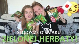 Słodycze o smaku ZIELONEJ HERBATY z Japonii z Julką