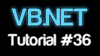 VB.NET Tutorial 36 - Splitting Strings (Visual Basic 2008/2010)