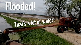 19,000 Gallons per MINUTE! The Farm is Flooded!