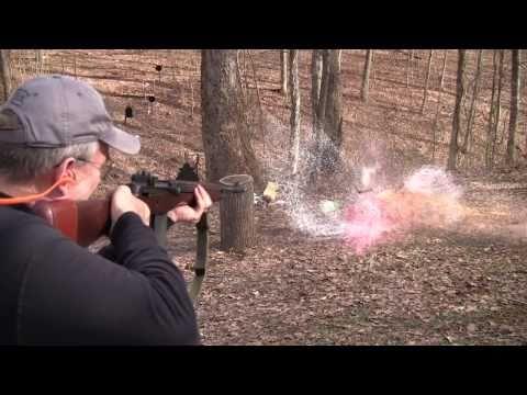 AR15   AK47   M14 vs 2 liters