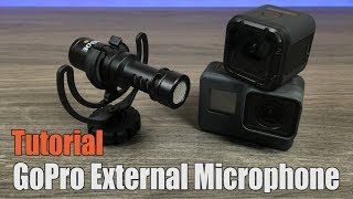 Connecting An External Mic To A GoPro Hero 5