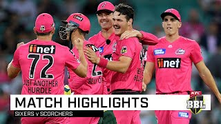 Clinical Sixers smash the Scorchers at SCG | KFC BBL|09