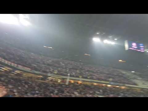 Fine Partita INTER 3 - 2 Milan 15 Ottobre 2017 Stadio San Siro