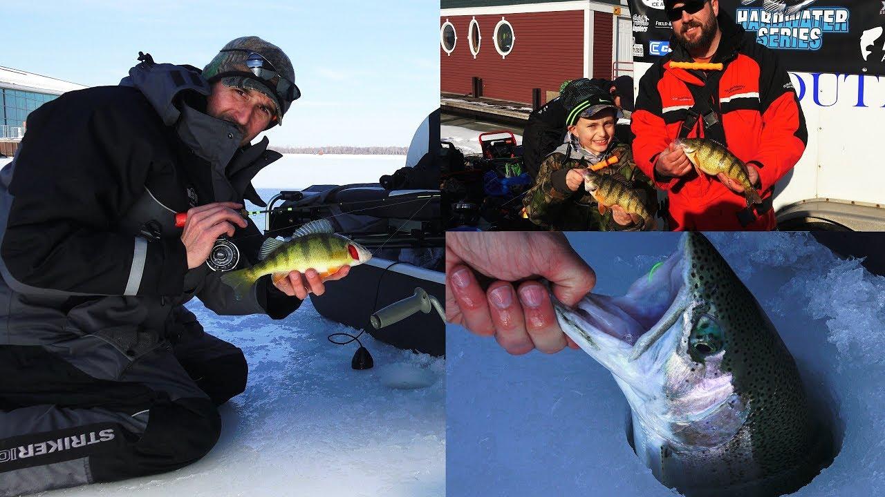 Presque isle bay ice fishing tournament lake erie for Presque isle bay fishing report