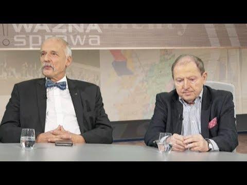 Korwin-Mikke: Ukraina na zlecenie amerykańskie usiłuje doprowadzić do wojny, albo są tam wybory