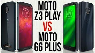 Moto Z3 Play vs Moto G6 Plus (Comparativo em 3 minutos)