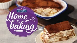 Simply Creamy Tiramisu | Emborg Home Baking