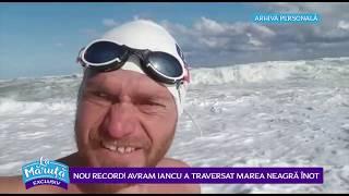 Nou record! Avram Iancu a traversat Marea Neagra inot