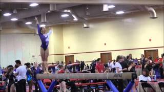 Mia Love - West Coast Elite - 2012 Region 1 Championships Level 8