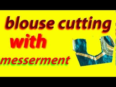 measurement blouse cutting telugu