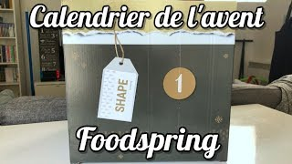 UNBOXING CALENDRIER DE L'AVENT FOODSPRING