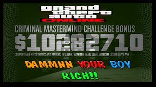 GTA 5 How To Get The Criminal Mastermind Challenge Glitch
