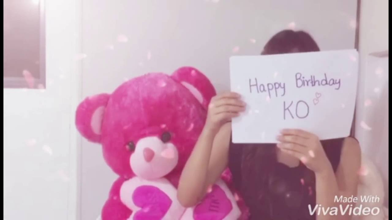 Mio Naw Long Distance Relationship Birthday Surprise