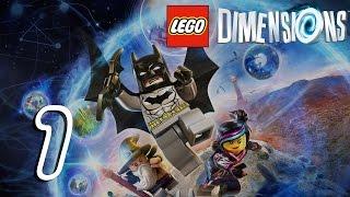LEGO DIMENSIONS Walkthrough Gameplay HD - Intro - Part 1