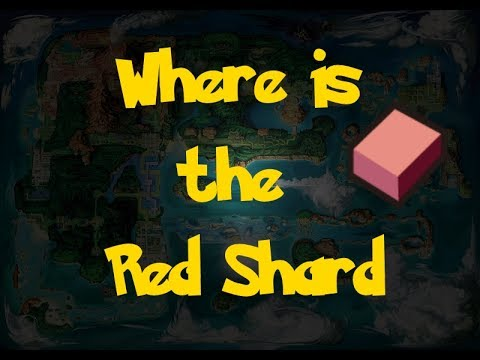 Where Is: The Red Shard (Pokemon Alpha Sapphire/Omega Ruby)