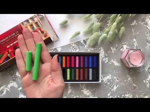 Мягкая пастель Half Soft Pastel KOH-I-NOOR для художественных работ | Обзор пастельных мелков