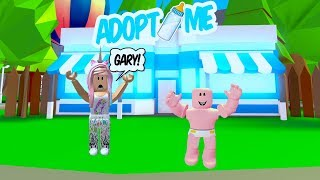 MY BABY RENTS A MANSION! ROBLOX ADOPT ME ROLEPLAY