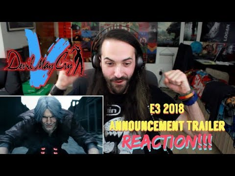 DEVIL MAY CRY 5 - E3 2018 Announcement TRAILER REACTION!!!