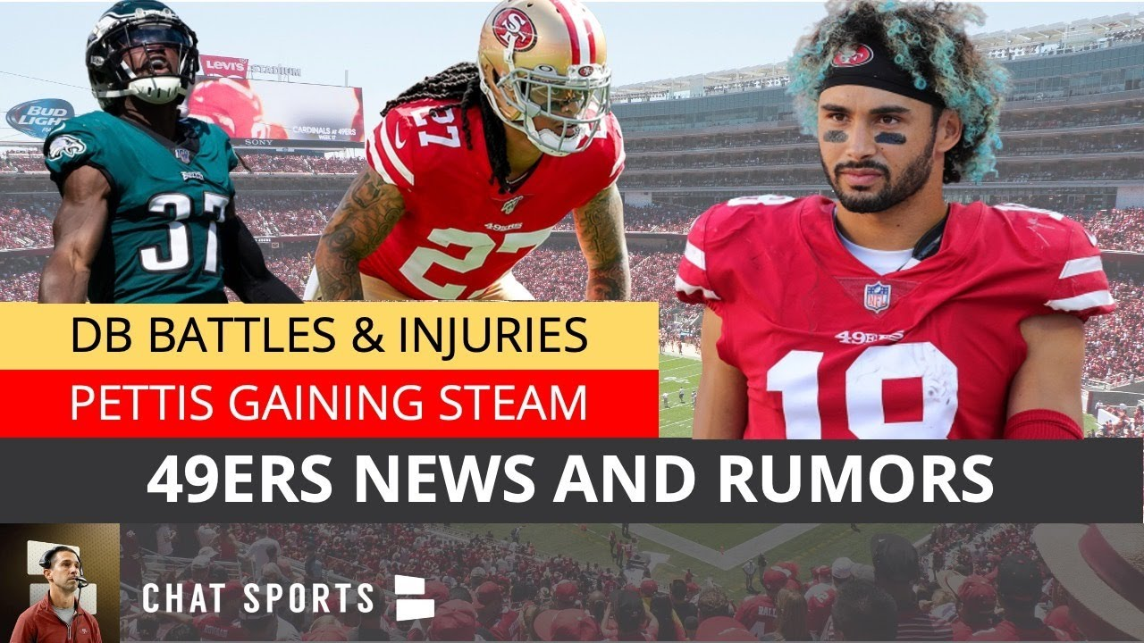 San Francisco 49ers News K Waun Williams Injury Dante Pettis Hype 49ers Sign Jonathan Cyprien Youtube