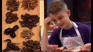 W tej konkurencji młodzi kucharze musieli wymyślić danie z... robakami! [MasterChef Junior]