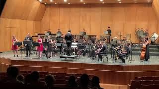David Maslanka - Concerto for Saxophone Quartet and Wind Ensemble - I Mov (Showreel)