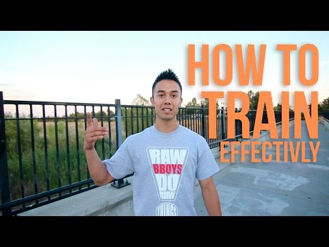 How To Breakdance | Effective Training | Beginning Breaking Tutorial