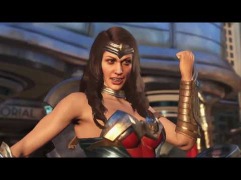 Injustice 2: Official wonder woman and blue beetle trailer | World News
