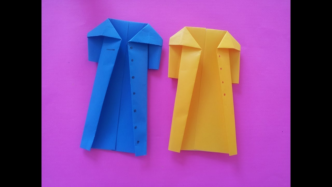 Coat Paper Making With Origami