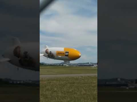 Zeppelin Landung Friedrichshafen Hangar - YouTube