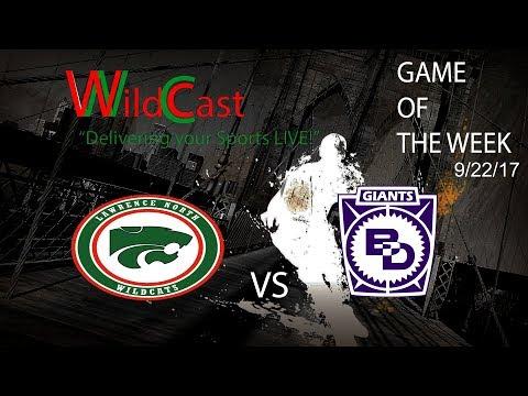 Wildcast: Lawrence North v Ben Davis (Boys Football)