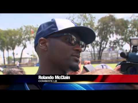 Rolando McClain At Cowboys Camp