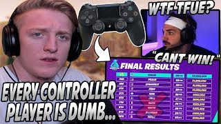 "Tfue Calls EVERY Controller Player ""DUMB"" & Explains Why They DIDN'T Win The World Cup!"