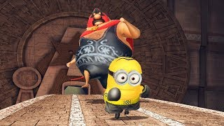 Despicable Me 3 : Minion Rush - Boxer Minion With Upgraded Costume VS El Macho