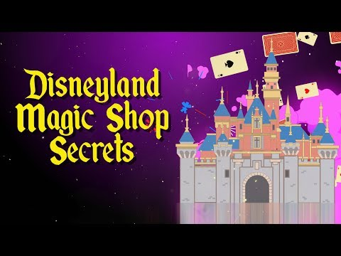 Top 5 Disneyland magic shop secrets and facts