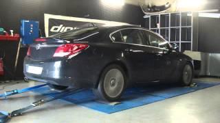 * Reprogrammation Moteur * Opel Insignia cdti 160cv @ 199cv Dyno Digiservices Paris