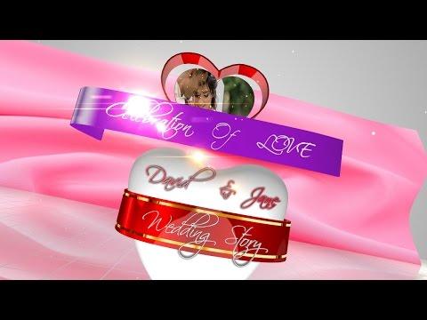 Blufftitler + Templates + CLEBRATION OF LOVE: CUSTOMIZABLE INTRO VIDEO |            | created with BluffTitler  sriblessydaniel@gmail.com www.facebook.com/dani.daniel.94064