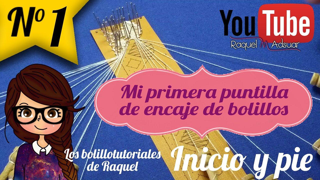 013 Puntilla Inicio y Pie - Curso Completo Encaje de Bolillos ...