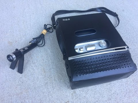 RCA is the IDEAL Cassette Recorder – Model YZB522S