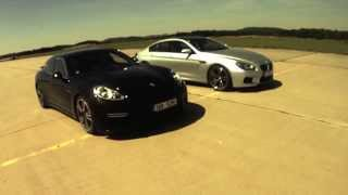BMW M6 Gran Coupé vs Porsche Panamera Turbo: 0-200 km/h