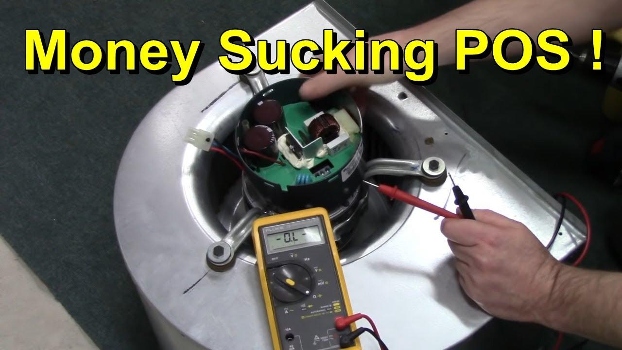furnace ecm motor repair youtube ge ecm motor end bell schematic [ 1280 x 720 Pixel ]