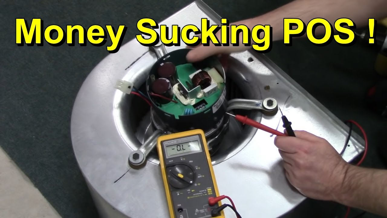 medium resolution of furnace ecm motor repair youtube ge ecm motor end bell schematic