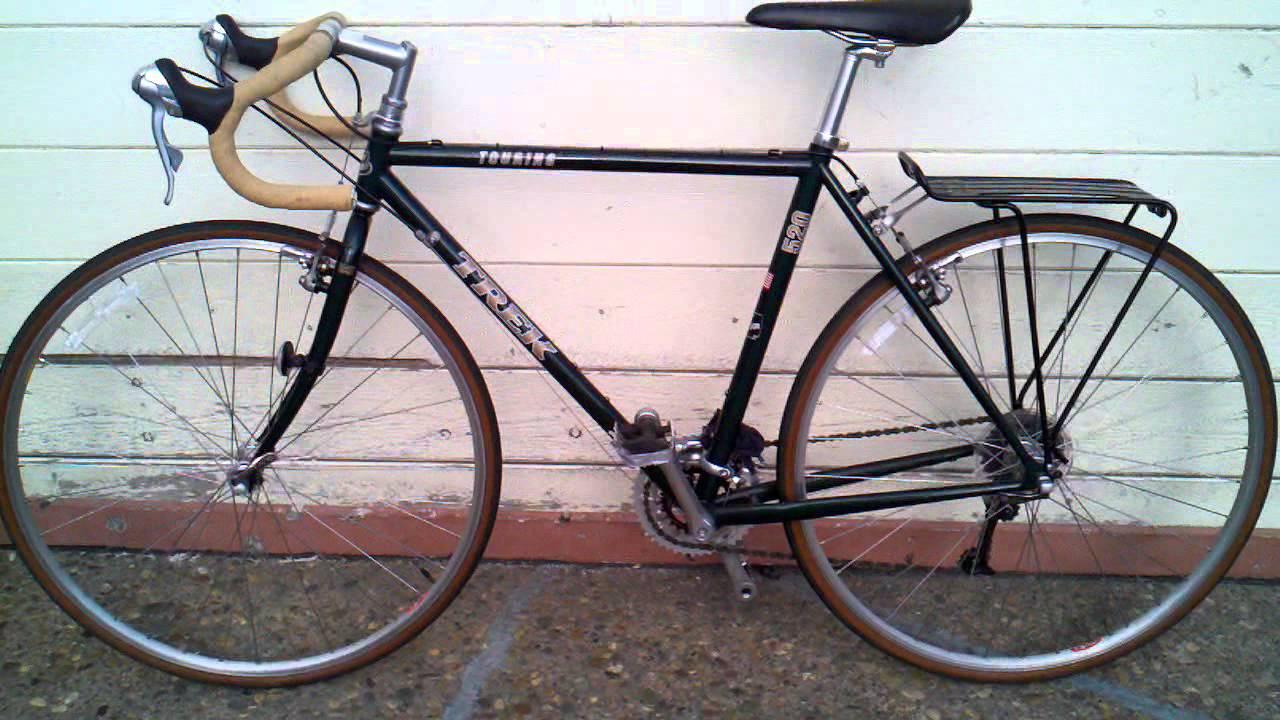Trek 520 Touring Bike 1997 Youtube
